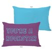 One Bella Casa You're a Rockstar Pillow