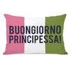 OneBellaCasa.com Buongiorno Principessa Pillow