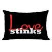 One Bella Casa Love Stinks Pillow