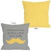 One Bella Casa Must Dash Pillow
