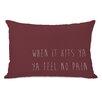 One Bella Casa Feel No Pain Pillow
