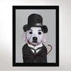 One Bella Casa Tramp Framed Graphic Art