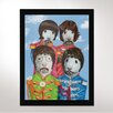 One Bella Casa Furry Four Framed Graphic Art