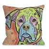 One Bella Casa Doggy Décor The Boxer Pillow