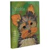One Bella Casa Doggy Decor Yorkie 1 Graphic Art on Canvas