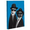 One Bella Casa Pets Rock Brothers Graphic Art on Canvas
