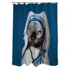 One Bella Casa Pets Rock Calcutta Polyester Shower Curtain