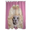One Bella Casa Pets Rock Country Polyester Shower Curtain