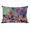 One Bella Casa Oliver Gal NYC Fashion Taxi Pillow