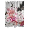 One Bella Casa Oliver Gal Dawn of Times Polyester Shower Curtain