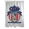 <strong>OneBellaCasa.com</strong> Doggy Decor MuttLicker Polyester Shower Curtain