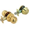 <strong>Legend Locksets</strong> Front Door Knob Entry Lockset and Single Cylinder Deadbolt Combination Set