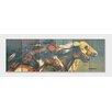 Gizaun Art Signature 1 Night Raid  Full Color Cedar Wall Art