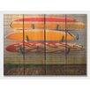 Gizaun Art Board Walk  Full Color Cedar Wall Art