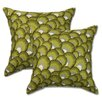 <strong>Cuba Wheatgrass Pillow (Set of 2)</strong> by Big Tree Furniture