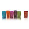 <strong>Divine Designs</strong> Metallic Moroccan Tea Glasses (Set of 6)