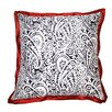 Divine Designs Lady Paisley Cotton Pillow