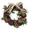 Urban Florals Autumn Pomegranate and Quince Wreath