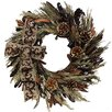 Urban Florals Holiday Copper Sparkle Wreath