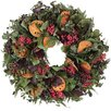 <strong>Urban Florals</strong> Autumn Quince and Pepper Berry Wreath