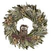 Urban Florals Autumn Hoot Hoot Wreath