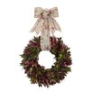 Urban Florals Holiday Holiday Message Wreath