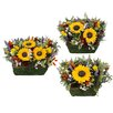<strong>Urban Florals</strong> Spring / Everyday Tuscan Sunflower Wreath (Set of 3)