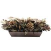 <strong>Urban Florals</strong> Holiday Copper Sparkle Desk Top Plant in Planter