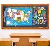 Mona Melisa Designs Peel, Play and Learn USA Map