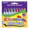 <strong>Bazic</strong> 8 Color Scented Jumbo Watercolor Marker Set