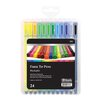<strong>Bazic</strong> 24 Color Washable Fiber Tip Pen