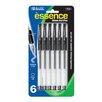 Bazic Essencer Gel-Pen with Cushion Grip (Set of 6)