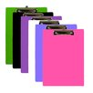 Bazic PVC Standard Clipboard (Set of 48)