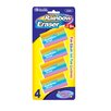 Bazic Rainbow Eraser (Set of 4)