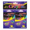 <strong>Bazic</strong> 16 Premium Quality Crayon (Set of 2)