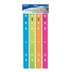 "Bazic 12"" Jeweltones Ruler (Set of 4)"