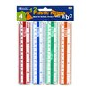 "<strong>6"" Plastic Ruler (Set of 4)</strong> by Bazic"