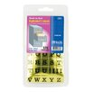 Bazic 378 Ct. Gold Foil Alphabet Labels