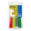 Bazic 432 Ct. Assorted Color Foil Star Stickers