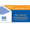 Bazic 80 Ct. Security Envelopes (Set of 24)