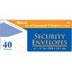 Bazic 100 Ct. Security Envelopes (Set of 24)