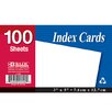 <strong>Bazic</strong> Unruled Index Cards (Set of 36)