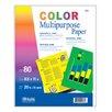 Bazic Multi Color Multipurpose Paper (Set of 50)