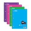 Bazic 120 Ct. 3-Subject Spiral Notebook (Set of 24)