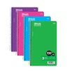 Bazic 150 Ct. 3-Subject Spiral Notebook (Set of 24)