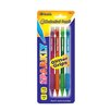 Bazic Sparkly 0.7mm Mechanical Pencil with Glitter Grip (Set of 4)