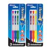 Bazic Accent 0.5 mm Triangle Mechanical Pencil with Grip (Set of 3)