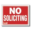 <strong>No Soliciting Sign (Set of 24)</strong> by Bazic