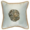 <strong>Betsy Drake Interiors</strong> Coastal Sand Dollar Indoor / Outdoor Pillow
