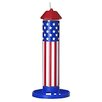 Pet Zone American Flag Seed Tube Bird Feeder